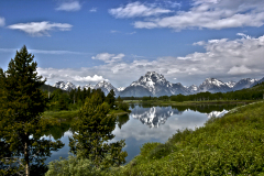 Oxbow Bend Snake River Wyoming
